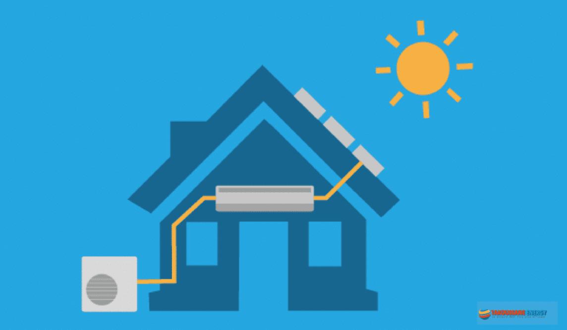 Diagramme climatiseur solaire