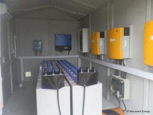 , CENTRALE HYBRIDE SOLAIRE DIESEL, Takoussane Energy