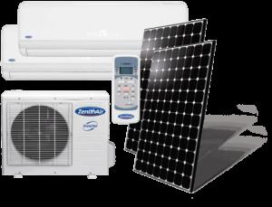 Climatiseur fonctionnant à l'énergie solaire