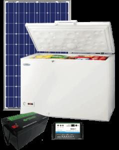 Congélateur fonctionnant à l'énergie solaire