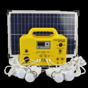 Kit éclairage énergie solaire