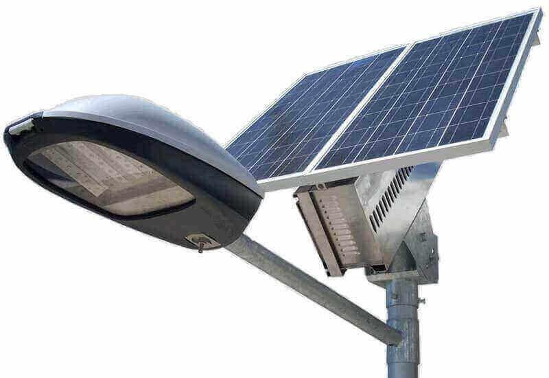 , LAMPADAIRE SOLAIRE LED CROSSE SIMPLE, Takoussane Energy