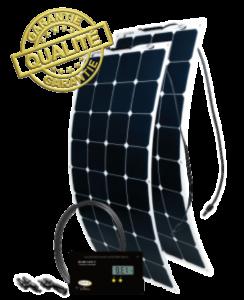 Panneau flexible énergie solaire