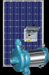 Pompe surface énergie solaire