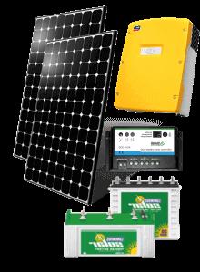 Kit solaire avec batteries