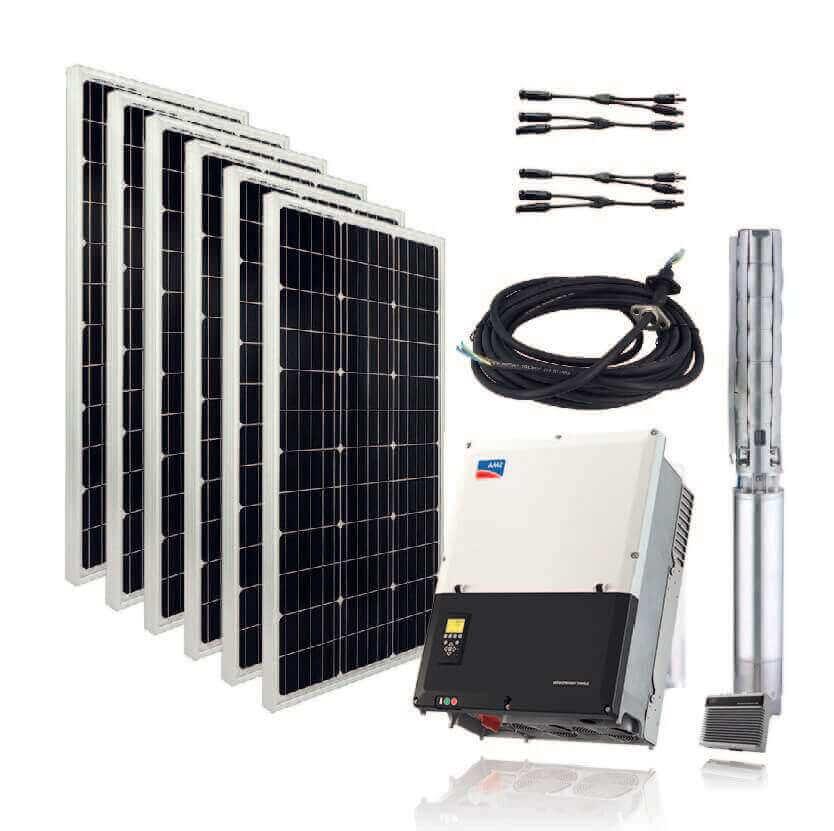 pompe immergée solaire, POMPE IMMERGEE SOLAIRE, Takoussane Energy