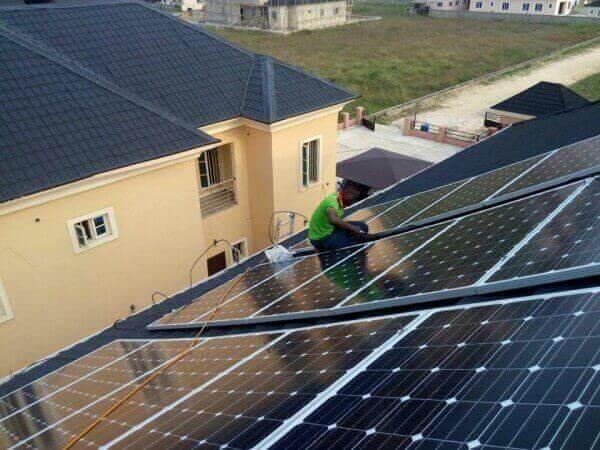 Installateur panneau solaire sur toiture
